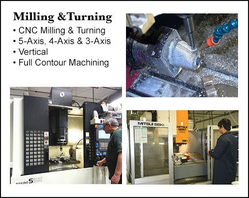 Milling and Turning
